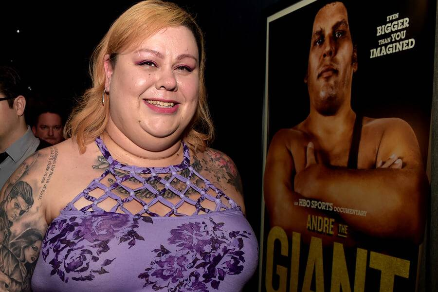 andre the giant's daughter Robin Roussimoff