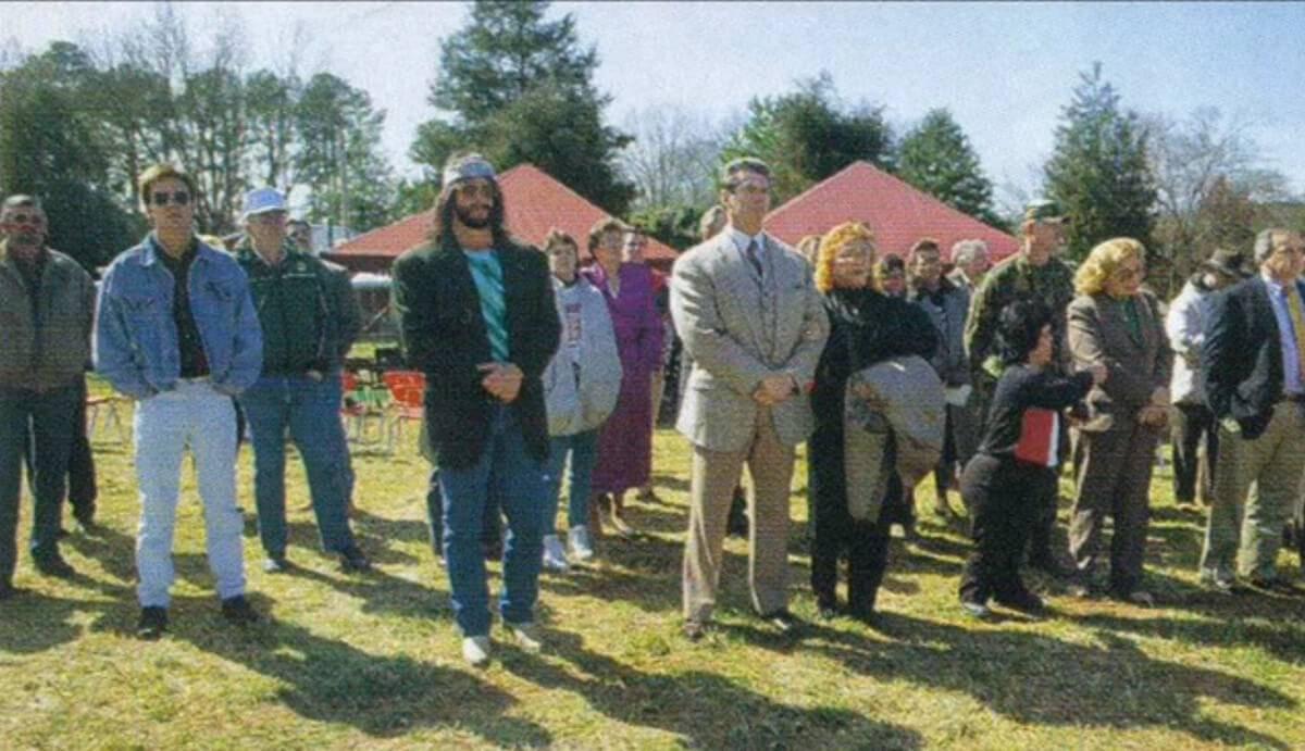 wrestlers attending ander's funeral
