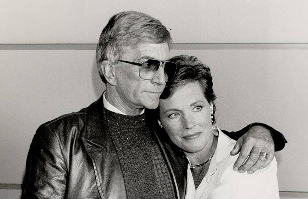 Picture of Blake Edwards and Julie Andrews