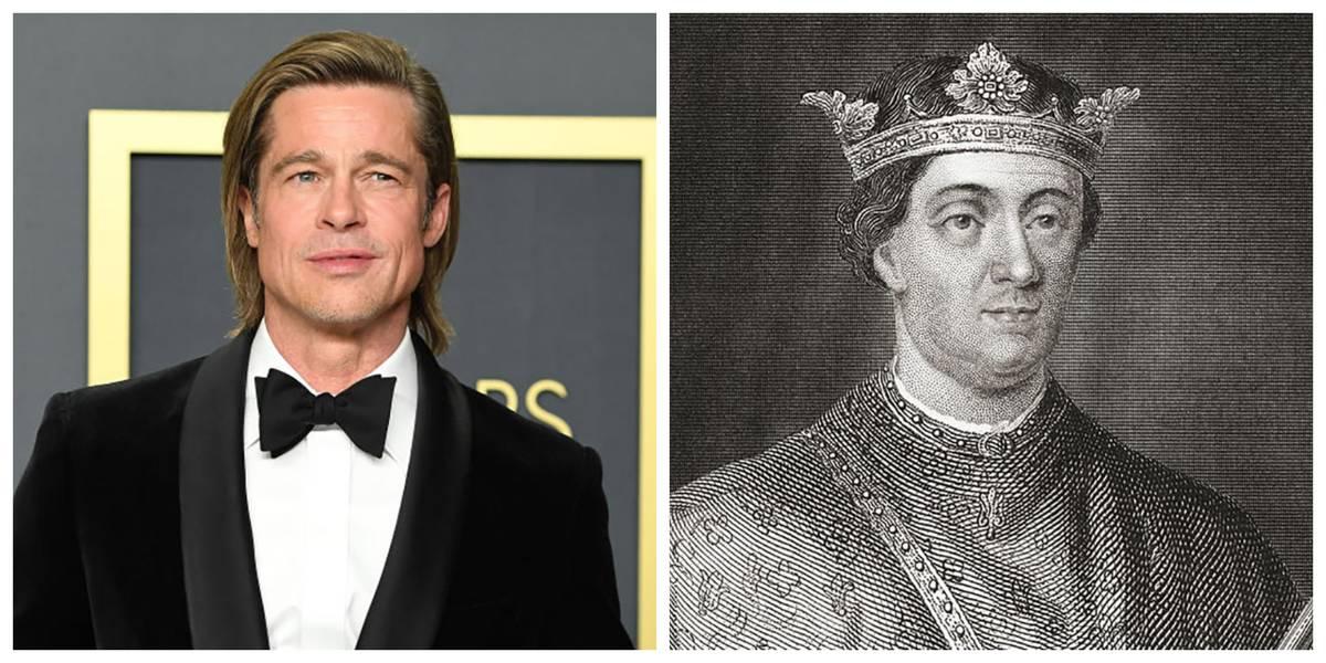 Brad Pitt and Henry II