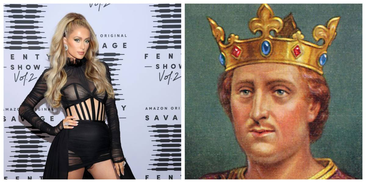 Paris Hilton and King Henry II