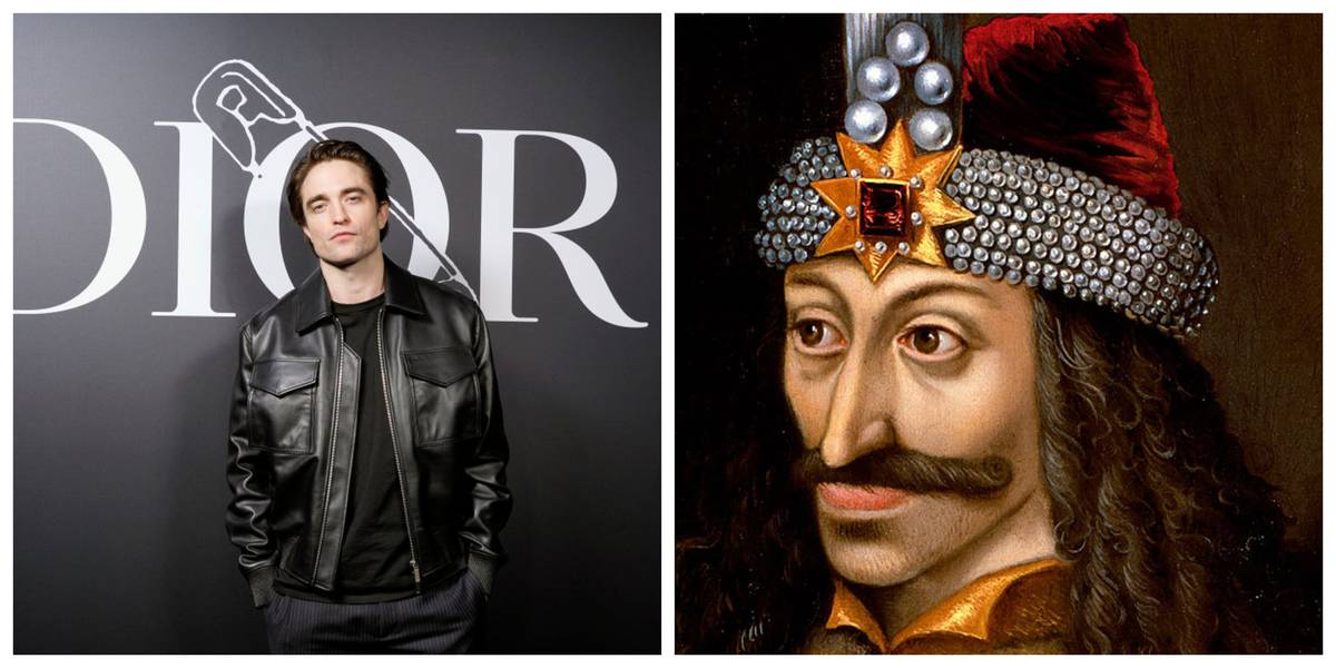 Robert Pattinson and Vlad the Impaler