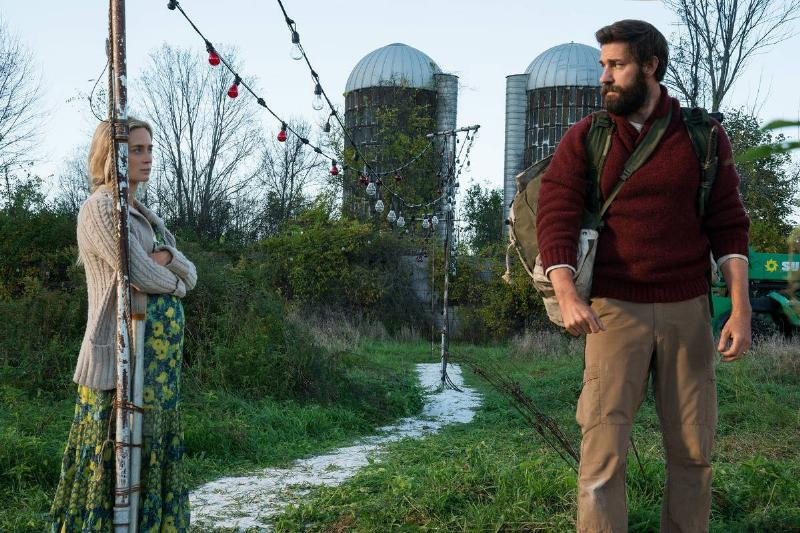 Good: A Quiet Place, John Krasinski & Emily Blunt
