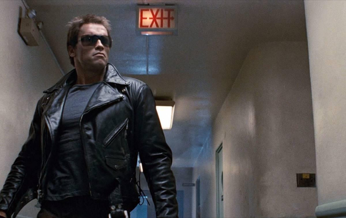 Schwarzenegger in The Terminator