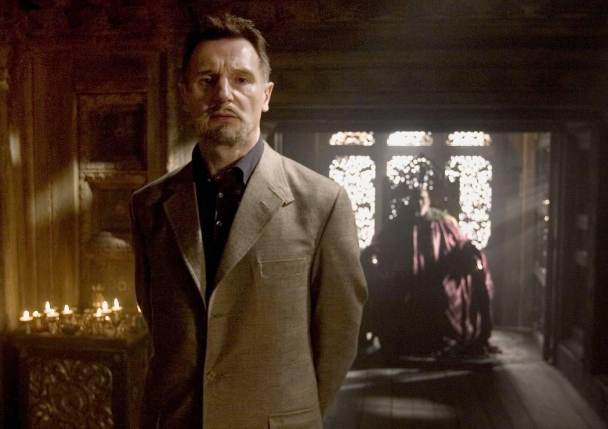 Liam Neeson in Batman Begins