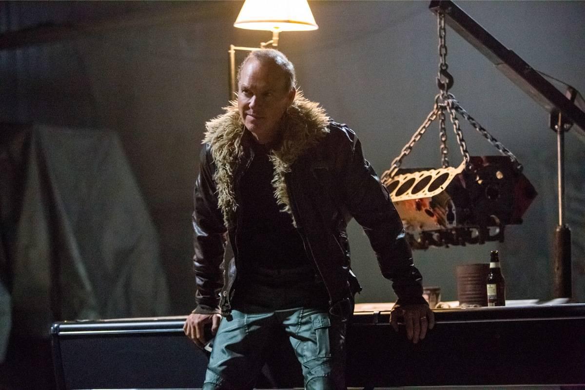 Keaton in Spider-Man