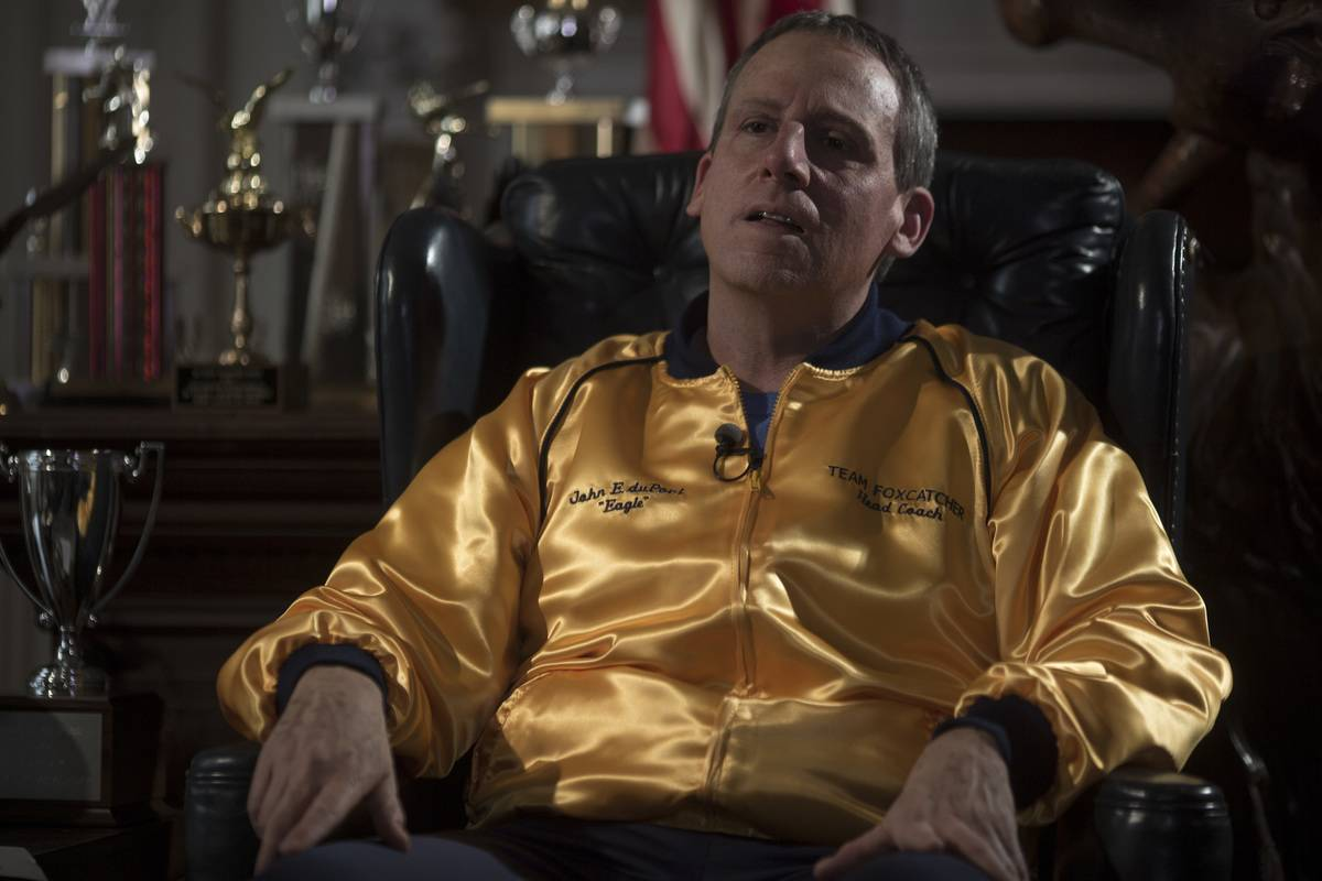 Carell in Foxcatcher