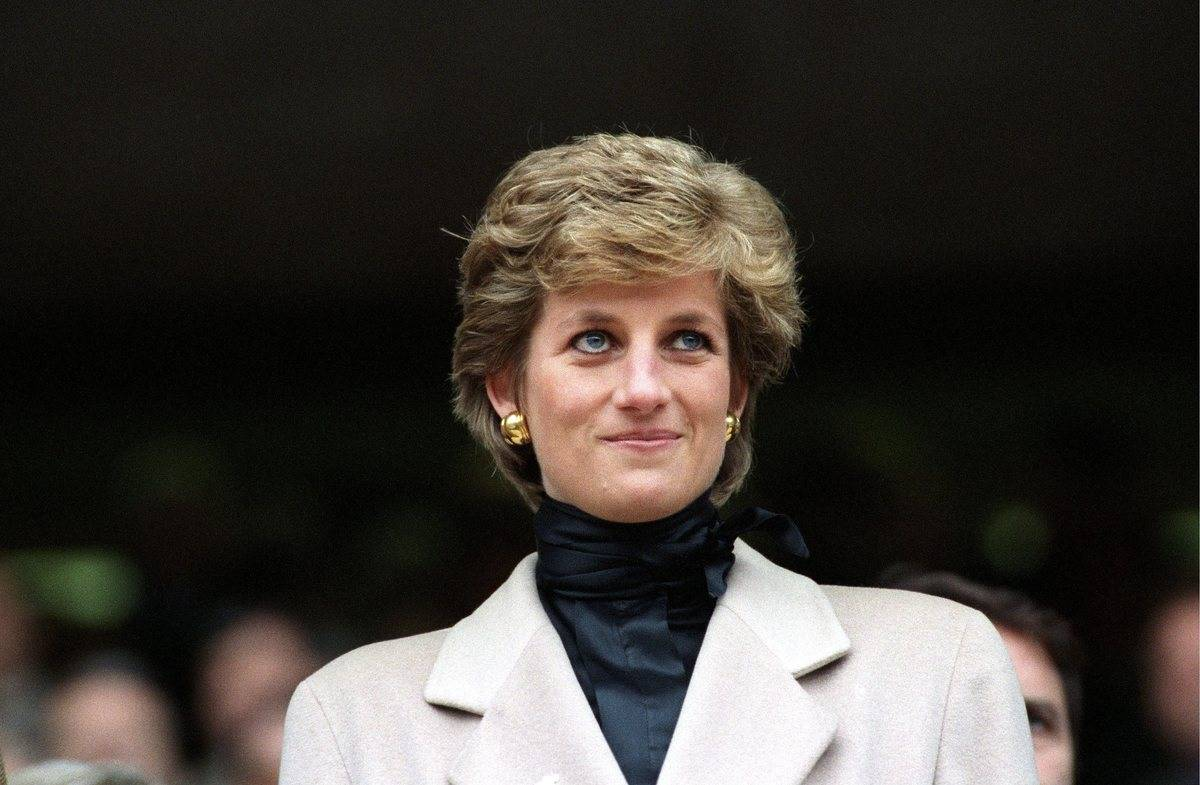 Diana attends the Rugby match France-Wales in Paris.