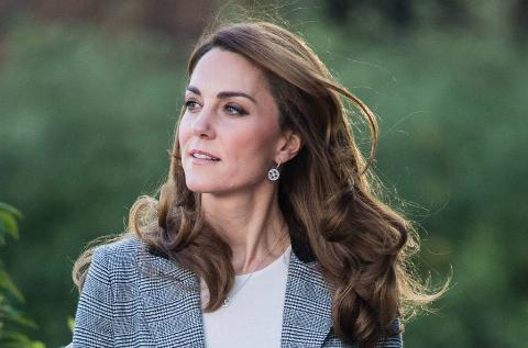 Kate dressed business casual in November 2019