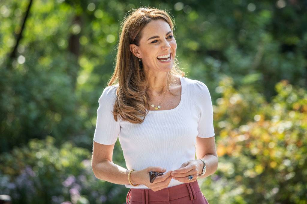 Kate in London in September 2020