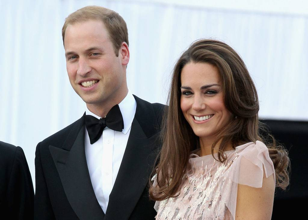 Prince William and Kate at a gala in June 2011