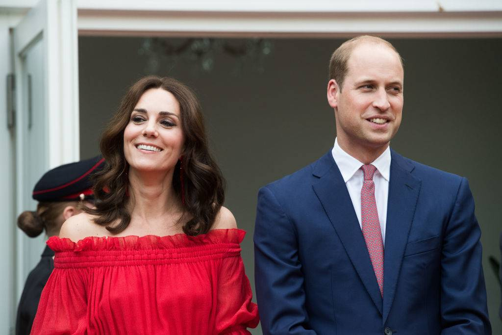 Prince William and Kate in Berlin in July 2017