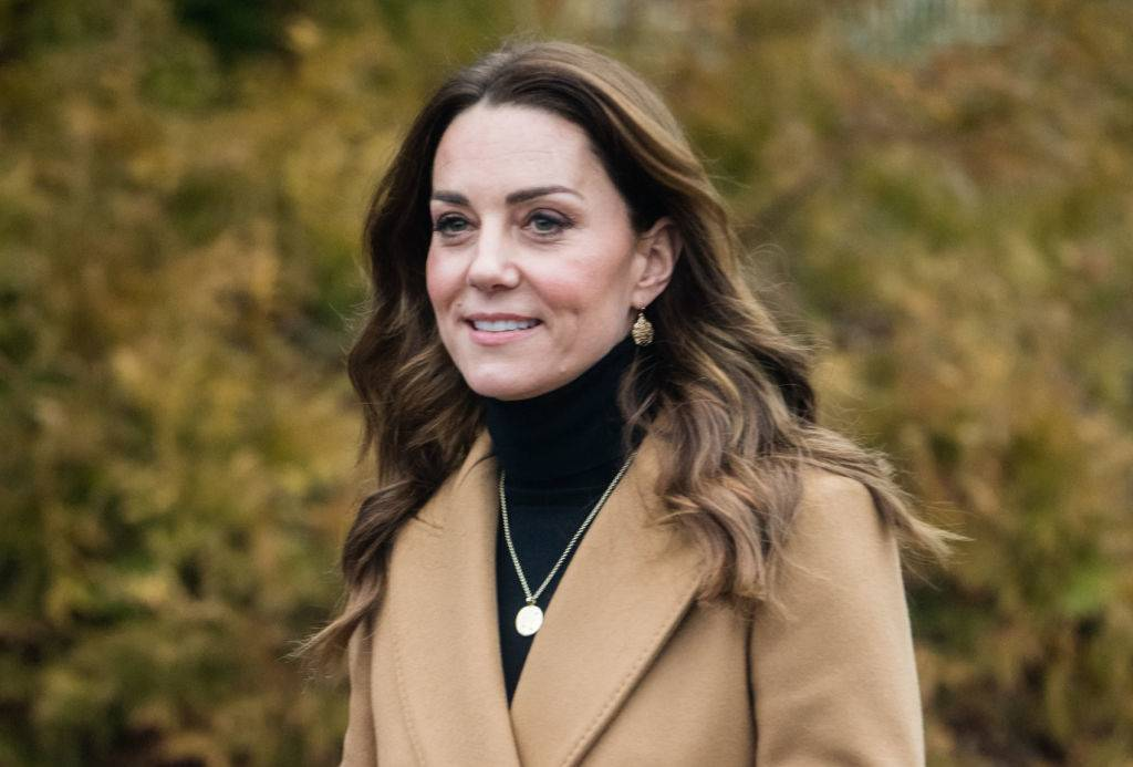 Kate in England in January 2020