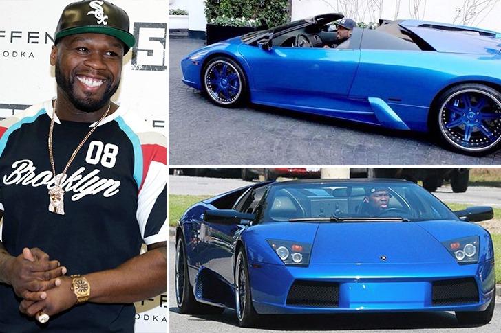 50 Cent – Lamborghini Murcielago – $2m