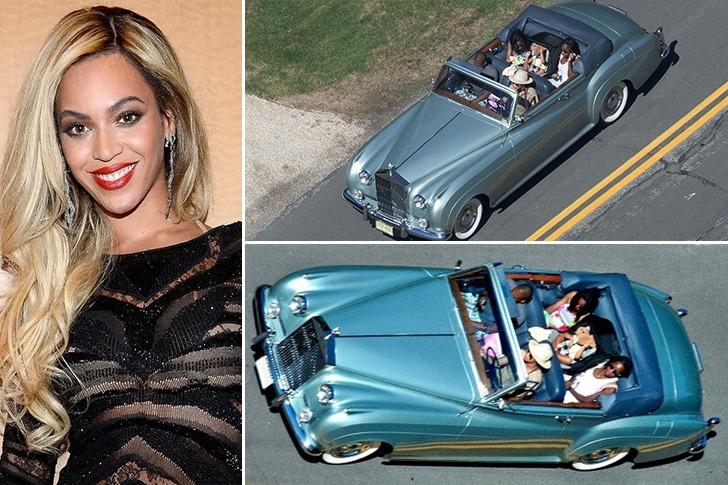 Beyonce – Rolls-Royce Silver Cloud II – $1 million