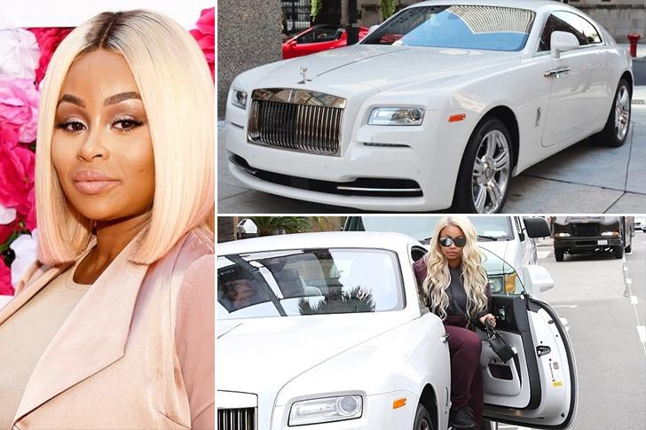 Blac Chyna – Rolls-Royce Wraith – $400k