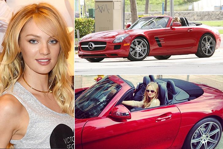 Candace Swanepoel – Mercedes-Benz SLS Convertible – $135k