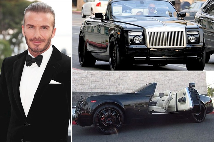 David Beckham – Rolls-Royce Phantom Drophead Coupe – $400k