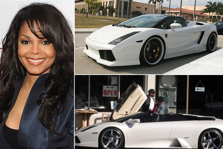 Janet Jackson – Lamborghini Gallardo Spyder, Estimated $250k