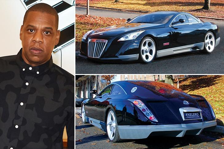 Jay-Z – Maybach Exelero – $8.8m