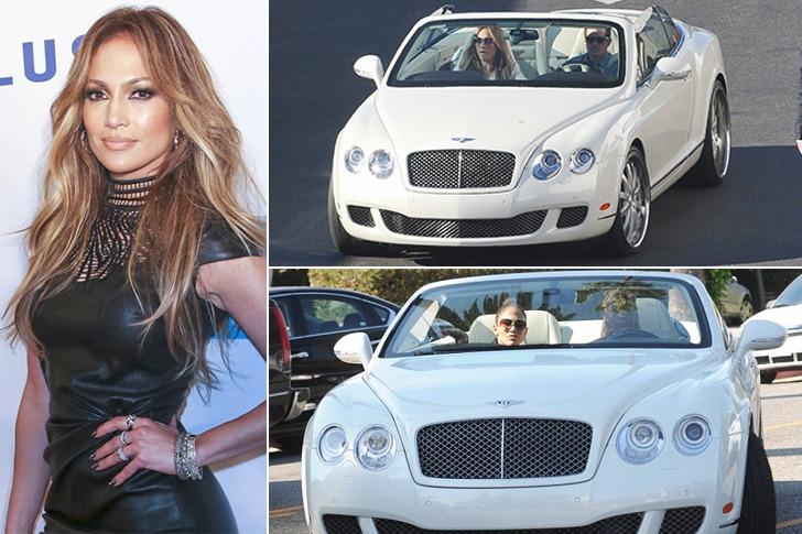 Jennifer Lopez – Bentley Continental GTC, $250k