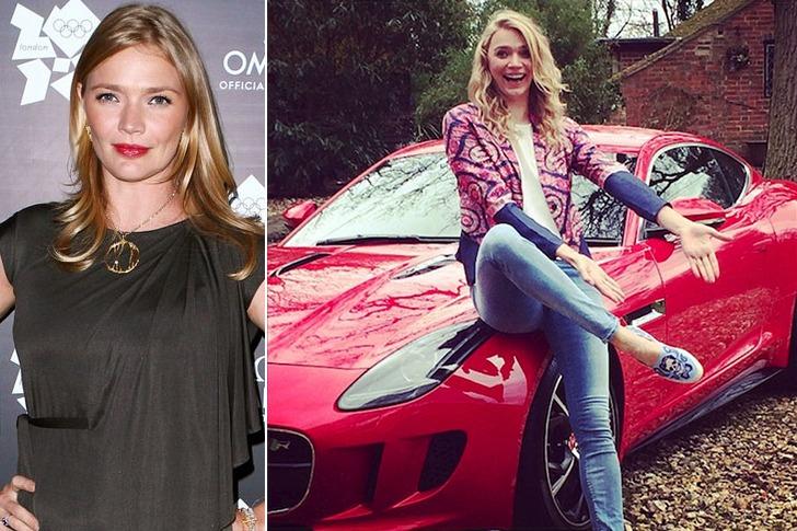 Jodie Kidd – Jaguar F-Type, Estimated $150k