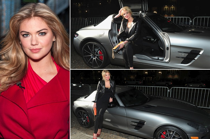 Kate Upton – Mercedes-Benz SLS 6.3 AMG, $248k