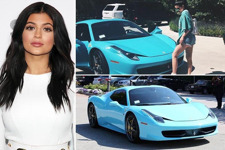 Kylie Jenner – Ferrari 458 Spider – $250k
