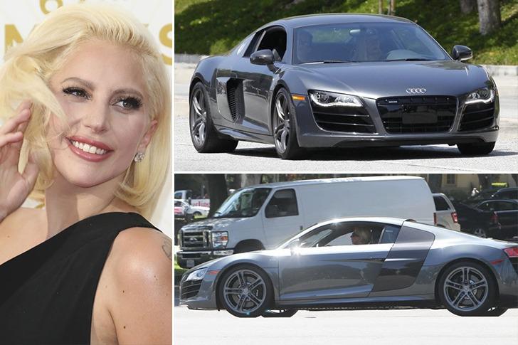 Lady Gaga – Audi R8, Estimated $165k