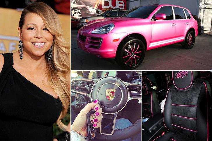 Mariah Carey – Porche Cayenne SUV, Estimated $200k
