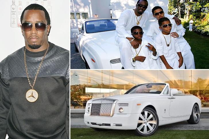 Diddy – Rolls-Royce Phantom Drophead Coupe – $440k