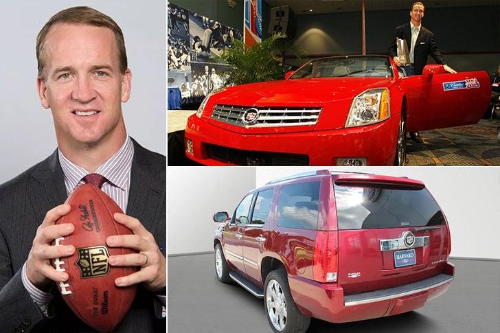 Peyton Manning – Cadillac Escalade – $90k