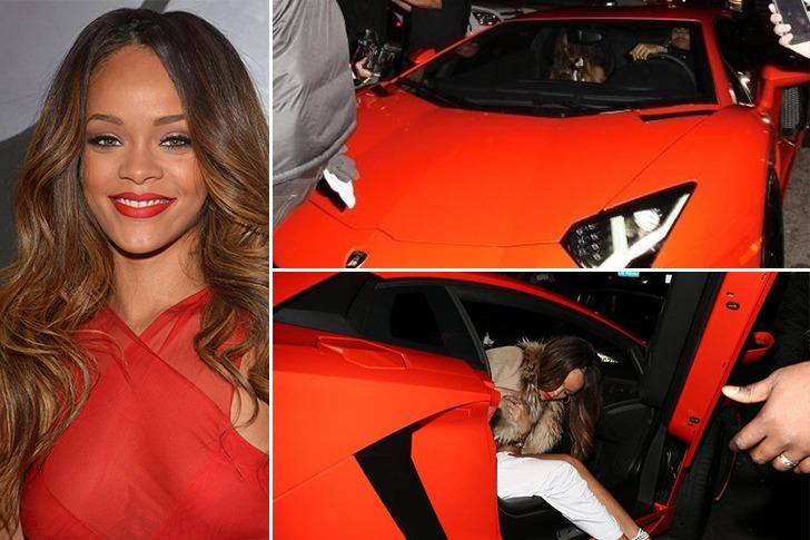 Rihanna – Lamborghini Aventador, $750k
