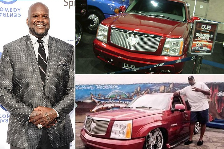 Shaquille O'Neal – Cadillac Escalade – $150k