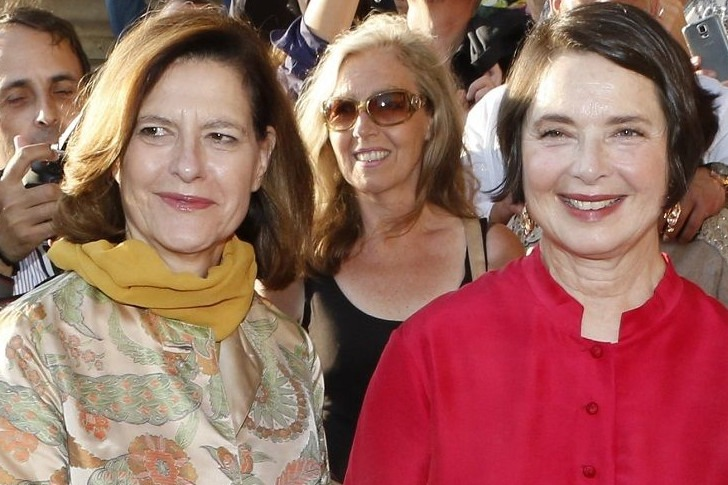 Isabella and Isotta Rossellini