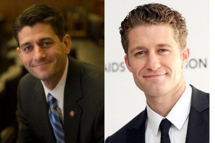 Paul Ryan and Matthew Morrison