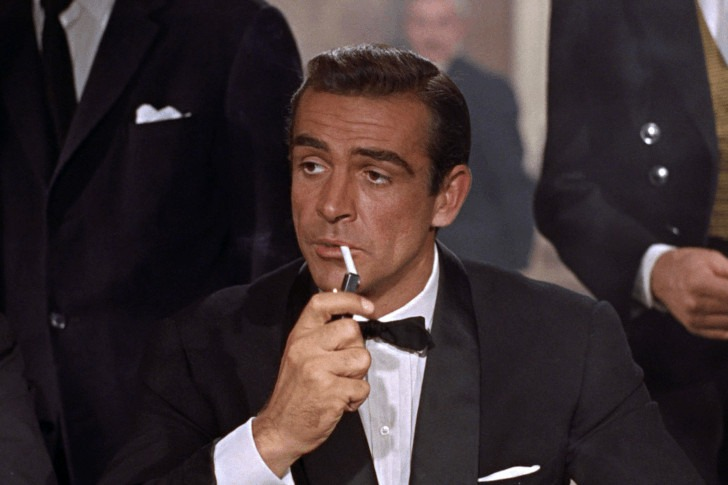 Sean Connery in all the James Bonds