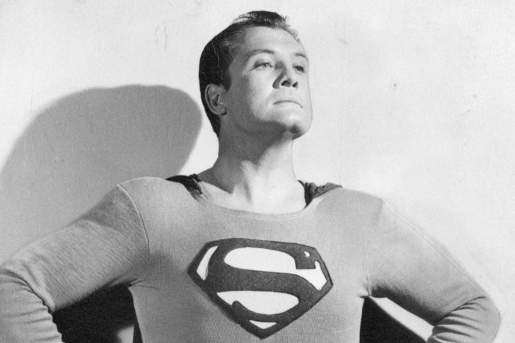George Reeves in Superman