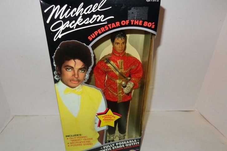 Michael Jackson: Superstar of the '80s Doll