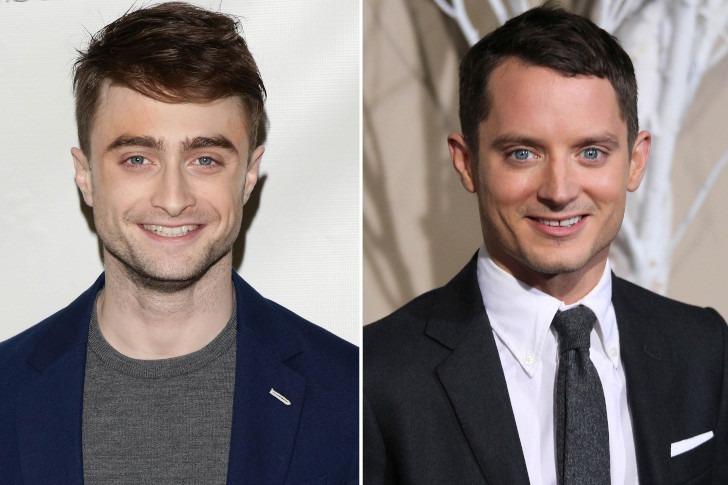 Daniel Radcliffe and Elijah Wood