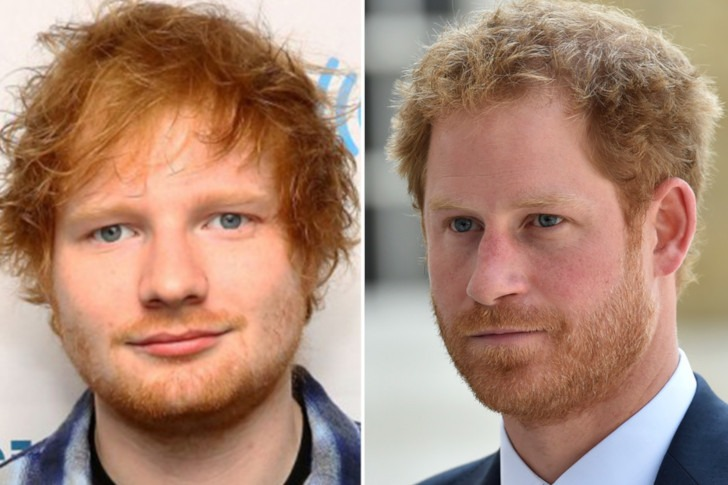 Ed Sheeran and Prince Harry