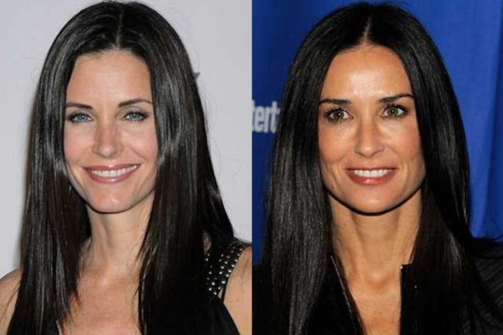 Demi Moore and Courteney Cox