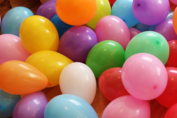 Make Balloon Fireworks